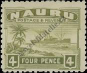 Stamp Nauru Catalog number: 21