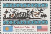 Stamp Palau Catalog number: 2