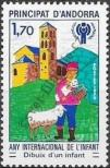 Stamp Andorra (France) Catalog number: 300