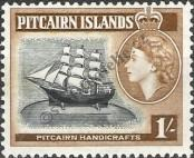 Stamp Pitcairn Islands Catalog number: 28