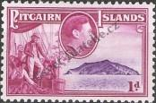 Stamp Pitcairn Islands Catalog number: 2