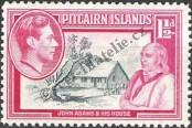 Stamp Pitcairn Islands Catalog number: 3