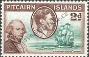 Stamp Pitcairn Islands Catalog number: 4