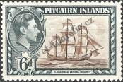 Stamp Pitcairn Islands Catalog number: 7