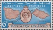 Stamp Pitcairn Islands Catalog number: 33