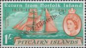 Stamp Pitcairn Islands Catalog number: 34