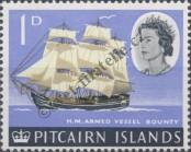 Stamp Pitcairn Islands Catalog number: 40
