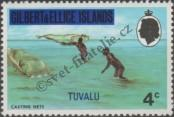 Stamp Tuvalu Catalog number: 4