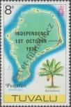 Stamp Tuvalu Catalog number: 72