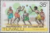 Stamp Tuvalu Catalog number: 77