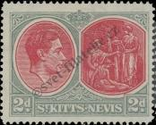 Stamp St. Kitts Nevis | St. Christopher, Nevis & Anguilla Catalog number: 75