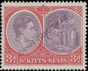 Stamp St. Kitts Nevis | St. Christopher, Nevis & Anguilla Catalog number: 77