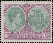 Stamp St. Kitts Nevis | St. Christopher, Nevis & Anguilla Catalog number: 78