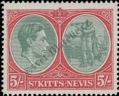 Stamp St. Kitts Nevis | St. Christopher, Nevis & Anguilla Catalog number: 81