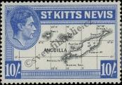 Stamp St. Kitts Nevis | St. Christopher, Nevis & Anguilla Catalog number: 82