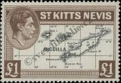 Stamp St. Kitts Nevis | St. Christopher, Nevis & Anguilla Catalog number: 83