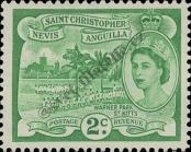 Stamp St. Kitts Nevis | St. Christopher, Nevis & Anguilla Catalog number: 115
