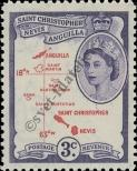Stamp St. Kitts Nevis | St. Christopher, Nevis & Anguilla Catalog number: 116