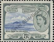 Stamp St. Kitts Nevis | St. Christopher, Nevis & Anguilla Catalog number: 118