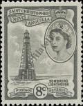 Stamp St. Kitts Nevis | St. Christopher, Nevis & Anguilla Catalog number: 120