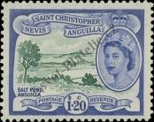 Stamp St. Kitts Nevis | St. Christopher, Nevis & Anguilla Catalog number: 125