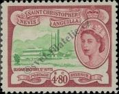 Stamp St. Kitts Nevis | St. Christopher, Nevis & Anguilla Catalog number: 127