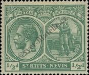 Stamp St. Kitts Nevis | St. Christopher, Nevis & Anguilla Catalog number: 37