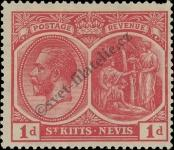 Stamp St. Kitts Nevis | St. Christopher, Nevis & Anguilla Catalog number: 38