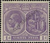 Stamp St. Kitts Nevis | St. Christopher, Nevis & Anguilla Catalog number: 39