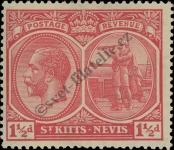 Stamp St. Kitts Nevis | St. Christopher, Nevis & Anguilla Catalog number: 40