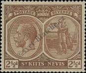 Stamp St. Kitts Nevis | St. Christopher, Nevis & Anguilla Catalog number: 44