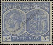 Stamp St. Kitts Nevis | St. Christopher, Nevis & Anguilla Catalog number: 45
