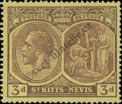 Stamp St. Kitts Nevis | St. Christopher, Nevis & Anguilla Catalog number: 46