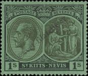 Stamp St. Kitts Nevis | St. Christopher, Nevis & Anguilla Catalog number: 48