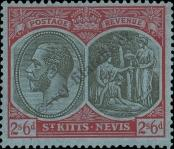 Stamp St. Kitts Nevis | St. Christopher, Nevis & Anguilla Catalog number: 50