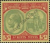 Stamp St. Kitts Nevis | St. Christopher, Nevis & Anguilla Catalog number: 51