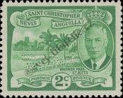 Stamp St. Kitts Nevis | St. Christopher, Nevis & Anguilla Catalog number: 101