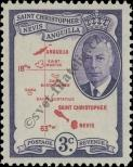 Stamp St. Kitts Nevis | St. Christopher, Nevis & Anguilla Catalog number: 102