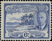 Stamp St. Kitts Nevis | St. Christopher, Nevis & Anguilla Catalog number: 105