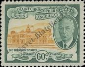 Stamp St. Kitts Nevis | St. Christopher, Nevis & Anguilla Catalog number: 109