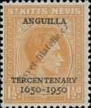 Stamp St. Kitts Nevis | St. Christopher, Nevis & Anguilla Catalog number: 93