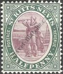 Stamp St. Kitts Nevis | St. Christopher, Nevis & Anguilla Catalog number: 1