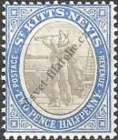 Stamp St. Kitts Nevis | St. Christopher, Nevis & Anguilla Catalog number: 4