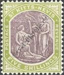Stamp St. Kitts Nevis | St. Christopher, Nevis & Anguilla Catalog number: 10