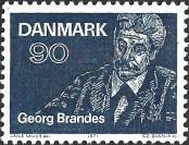 Stamp Denmark Catalog number: 518
