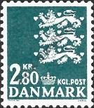 Stamp Denmark Catalog number: 684