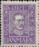 Stamp Denmark Catalog number: 132