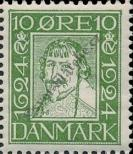 Stamp Denmark Catalog number: 134