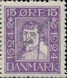 Stamp Denmark Catalog number: 135
