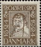 Stamp Denmark Catalog number: 136